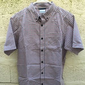 332cfbced03 Columbia Jackets & Coats - Columbia Plaid Short Sleeve Button Down Shirt Men